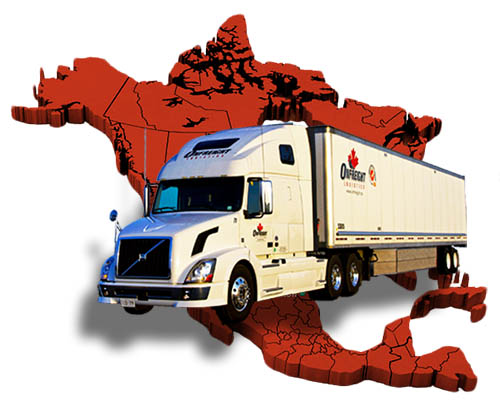 Onfreight Logistics Trucking Company North America